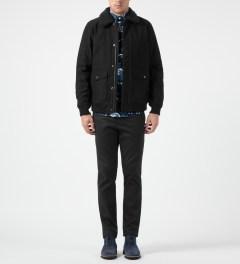 Carhartt WORK IN PROGRESS Black Monroe Jacket Model Picture