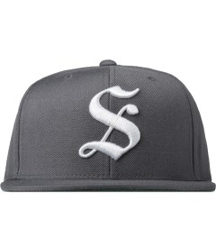 Stussy Charcoal Gothic S Cap Picutre