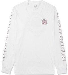 The Quiet Life White Tasty Waves L/S T-Shirt Picture