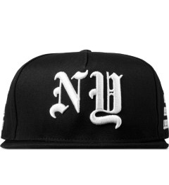 Stampd Black NY Golden Era Snapback Cap Picture