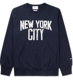 Medicom Toy Navy New York City Crewneck Sweater Picture
