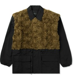 3.1 Phillip Lim Gold Tromp L'oeil Combo Panel Parka Jacket Picture
