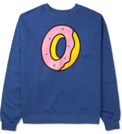 Odd Future Blue Single Donut Crewneck Sweater Picture