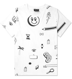 Lazy Oaf White Clip Art T-Shirt Picture