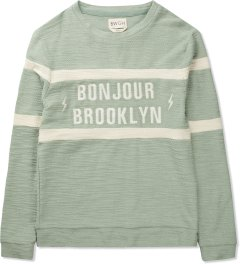 BWGH Green Bonjour Brooklyn Sweater Picutre