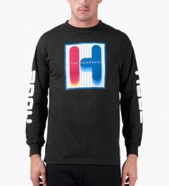 The Hundreds Black Feel Ya L/S T-Shirt Model Picutre