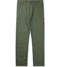 Carhartt WORK IN PROGRESS Glade Green Single Knee Pants II Picutre