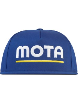SSUR *PLUS Royal Blue Mota 5 Panel Snapback Picture