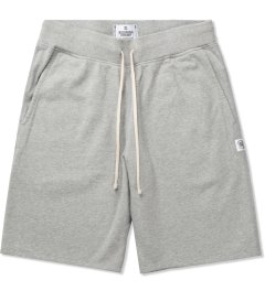 Reigning Champ Heather Grey RC-5019-1 Midweight Twill Fr Terry Sweatshorts Picture