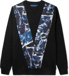 Études Studio Black V Crewneck Sweater Picutre