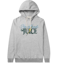 Lightning Bolt Heather Grey Pure & Sweet Triblend Fleece Hoodie Picutre