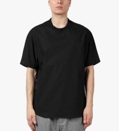3.1 Phillip Lim Black S/S Dolman T-Shirt Model Picutre