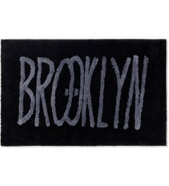 SECOND LAB Black Feat Kevin Lyons BROOKLYN RUG Picture