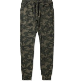 ZANEROBE Dark Camo Sureshot Drawstring Chino Pants Picutre