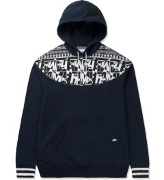 Hall of Fame Navy Raider Hoodie Picutre