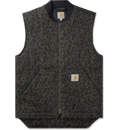 Carhartt WORK IN PROGRESS Cypress Rigid Panther Print Vest Picutre