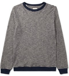 Band of Outsiders Blue Loop Stripe Sweater Picture