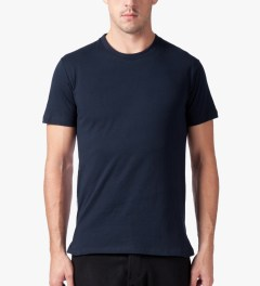Still Good Navy Dots Jazz Back Panel T-Shirt Model Picutre