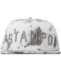 Stampd White Blotch Print Hat Picutre