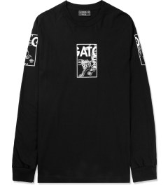 HNDSM Black Los Gatos L/S T-Shirt Picture
