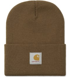 Carhartt WORK IN PROGRESS Hamilton Brown Short Watch Hat Picutre