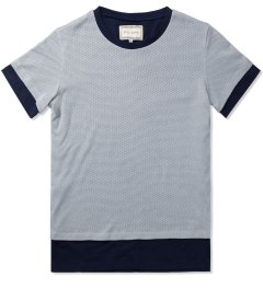 Still Good Grey Pearl/Navy Le Double T-Shirt Picture