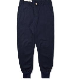Bleu De Paname Marine Loisir Gabardine Pants Picutre
