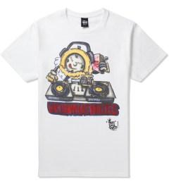 Stussy White Phade DJ Time T-Shirt Picutre