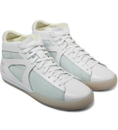 Puma MCQ x PUMA White Climb Mid Shoes Model Picture
