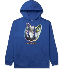 Odd Future Royal Blue OFWGKTA Tron Cat Hoodie Picture