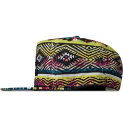 Stussy Multicolor Print Fresh Prince Snapback Model Picutre