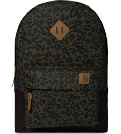 Carhartt WORK IN PROGRESS Cypress/Black Panther Print Miller Backpack Picutre