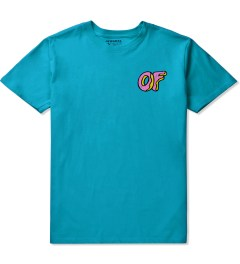 Odd Future Turquiose OF Donut T-Shirt Picutre