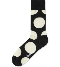 Happy Socks Black Jumbo Dot Socks Picture