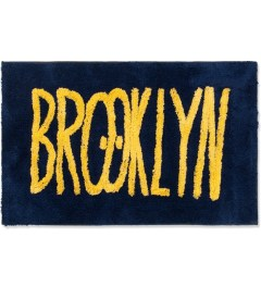 SECOND LAB Navy Feat Kevin Lyons BROOKLYN RUG Picture