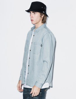 Stussy Light Blue Big Country L/S Shirt Picture