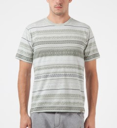 Carhartt WORK IN PROGRESS Grey Heather S/S Welton T-Shirt Model Picutre