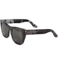 Études Studio RETROSUPERFUTURE x Etudes Gals Super Manuel B&W Sunglasses Model Picture