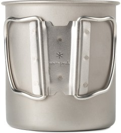 snow peak Titanium 600ml Single Wall Cup Model Picture