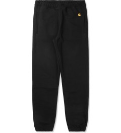 Carhartt WORK IN PROGRESS Black Chase Sweatpants Picutre