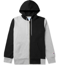 Hall of Fame Black Multi Zip-Up Hoodie Picture