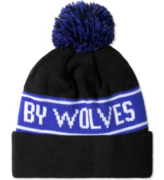 Raised by Wolves Black Bruno Toque Beanie Model Picture