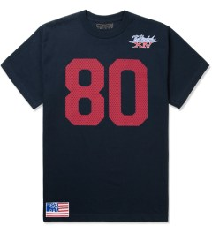 The Hundreds Navy Jersey T-Shirt Picutre