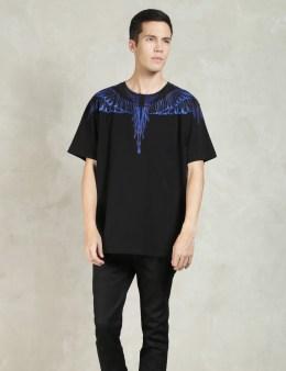 MARCELO BURLON Black Rio Negro T-Shirt Picture