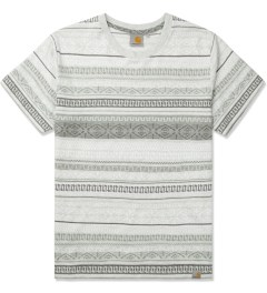 Carhartt WORK IN PROGRESS Grey Heather S/S Welton T-Shirt Picutre