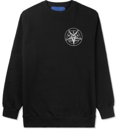 Études Studio Black Pentagram Crewneck Sweater Picutre