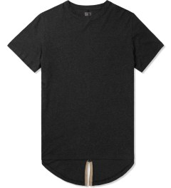 CLOT Black Fish Tail Leather T-Shirt Picture
