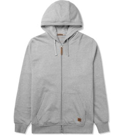 UNYFORME Heather Grey Jones Zip Hoodie Picutre