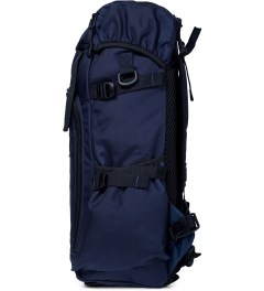 DSPTCH Navy Ruckpack Backpack Model Picture