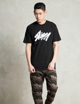 Stussy Black Marker T-Shirt Picture